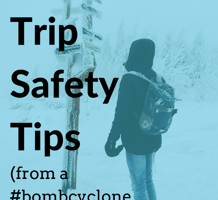 9 Road Trip Safety Tips (from a #bombcyclone survivor)